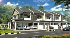 Affordable 2-Storey Terrace at Central City at Kuching-Samarahan Rd
