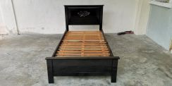 Second Han Single Size Solid Wood Bed Frame BF 497