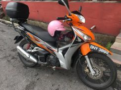 Used honda future 125 wave 125i helemt in
