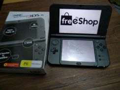 Nintendo New 3DS XL Black Modded US Version