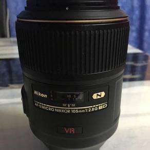Nikon 105mm F2.8G ED VR MICRO