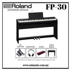 Roland FP-30 Digital Piano (Black) FP30 FP 30