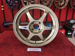 New SSR TYPE C 15INC GOLD PCD100X4holes
