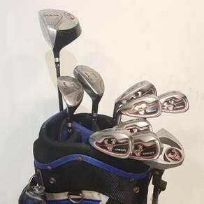 KP GOLF- RAM (Lefty) full set iron driver bag