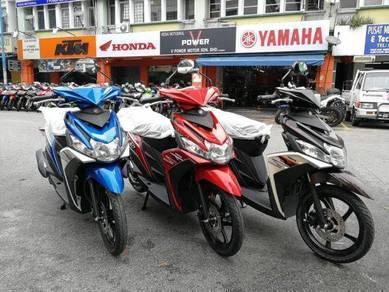 Yamaha Ego Solariz 125 (0 % SST) Easy Loan