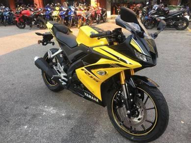 Yamaha r15 150cc new bike 2018 (free apply)