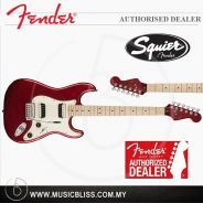 Fender Squier Contemporary Strat HH Guitar (Red)