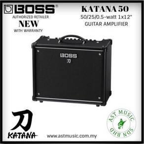 Boss Katana50 Katana-50 50 Watts Electric Guitar