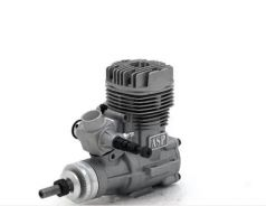 ASP S52A Two Stroke Glow Engine
