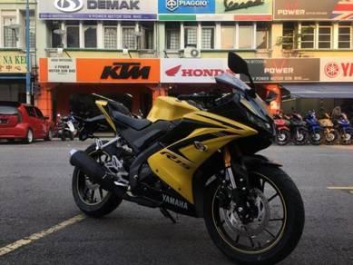 2018 yamaha r15 new bike (ready stock)