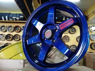 Sport rim volk racing TE37 16inch racing blue