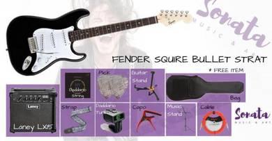 FENDER SQ BULLET STRAT Bundle package
