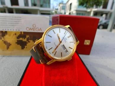 Rare Vintage Omega geneve w/Box & Certificate 35mm