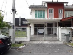 Pasir gudang / taman cendana / double storey terrace - full loan