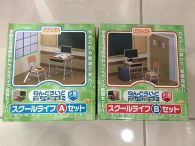 Nendoroid series school life a + b sets