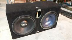 Woofer kenwood twin woofer 2 biji