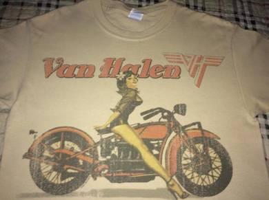 T Shirt original Van Halen- HAWAII ADICOLOUR RARE