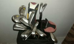 Assorted golf set with bag