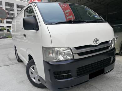 Toyota Hiace Panel Van 2.5 DIESEL MT NEW FACELIFT