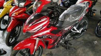 Benelli RFS150i dep690 free arc helmet or top box
