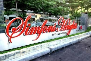 Symphony Height Condo Batu Caves 3rooms High Floor B/Market