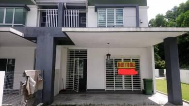 END LOT Double Storey Terrace Laman Orkid, Nilai Impian