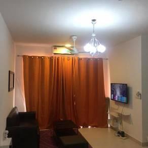 Bukit Bintang condo pandanmas middle room aircond klcc mytown ikea