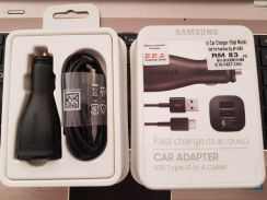 Dual Fast Charge Car Charger (with Type C cable)