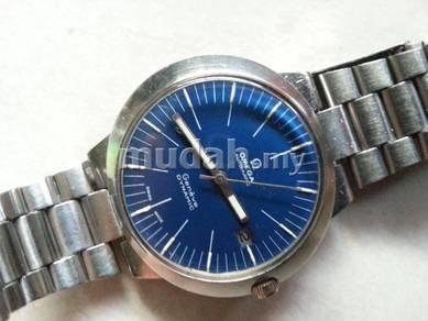 Jam Omega dynamic besar steel Watch