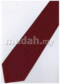 R05 Red Top Quality Solid Formal Neck Tie