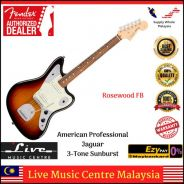 Fender American Pro Jaguar Electric Guitar RSB