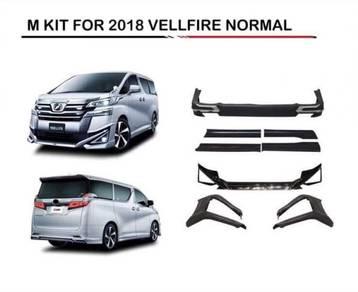 Toyota vellfire 2018 normal modelista body kit pp