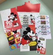 Mickey Mouse & Jin Yong stamp