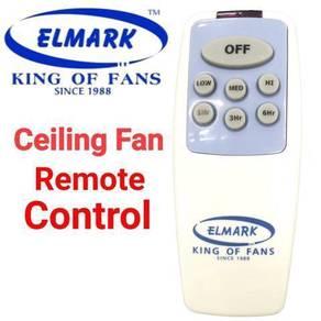 Ceiling fan remote control