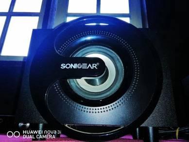 Sonigear titan5 stereo system speaker