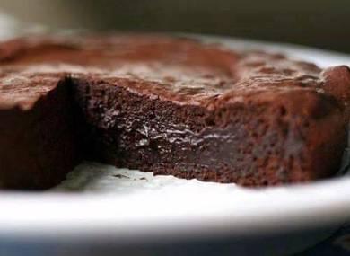 Hazelnut flouless cake