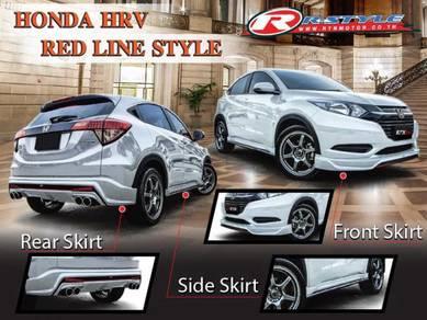 Hrv hr-v redline red line bodykit body kit skirt
