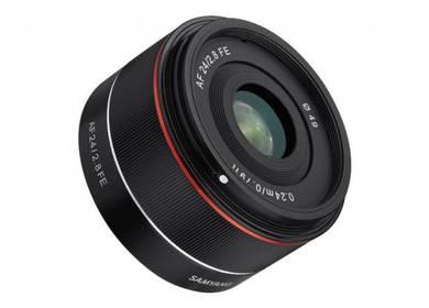 Samyang AF 24mm f/2.8 FE sony mount lenses