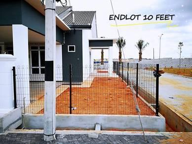 [ ENDLOT ] Paling LEBAR 38'x60' Rumah Setingkat di KotaSAS near ECRL !