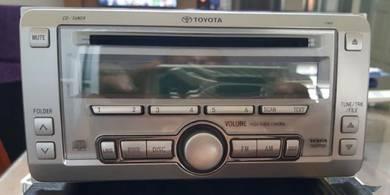 Toyota wish car radio