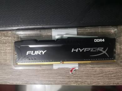 Hyper x fury 8gb ddr4