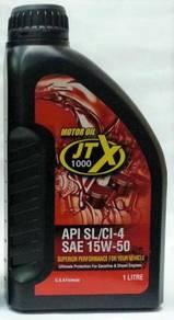 JTX Minyak Pelincir Motor JTX1000 Red 1000 1L