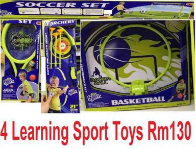 4 in 1 Kids Sports Playing Toys 4 dalam 1 Mainan S