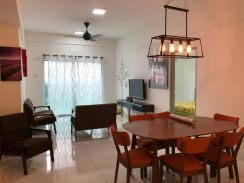 Twin Residence, 3bed, Fully Furnished, Tampoi, Johor