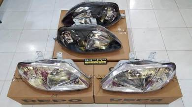 New Honda Civic EK9 99 Headlamp Smoke Crystal DEPO