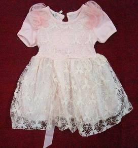 Laces Gown Dress For Baby