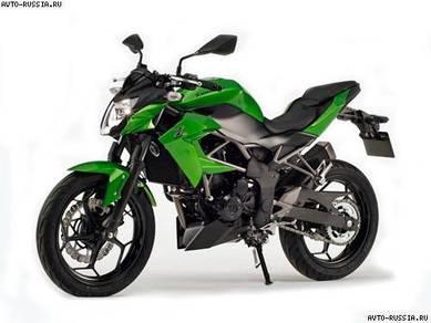 Kawasaki Z 250SL Naked Bike SINGLE CYL - MOTOSING