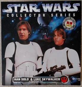 Star Wars HAN SOLO & LUKE SKYWALKER 12