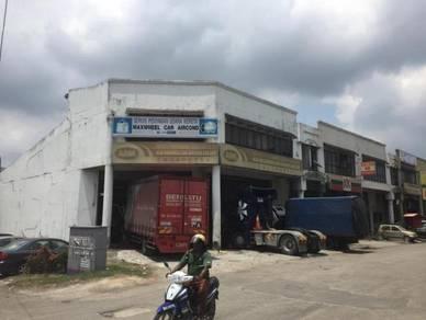 End Lot 1 and 1/2 story Factory Lot Port Klang BANDAR SULTAN SULAIMAN