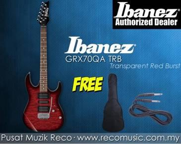 New Ibanez Electric Guitar GRX70QA TRB